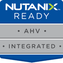 AHV Integrated and Nutanix-Ready solution